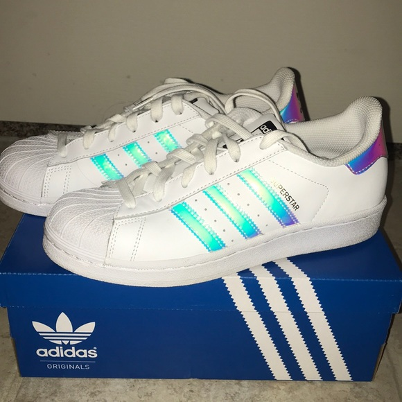 low priced db93e 68ccd Adidas Superstar 3 holo shoes